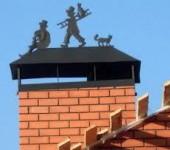 Колпаки на дымоход и заборные столбы